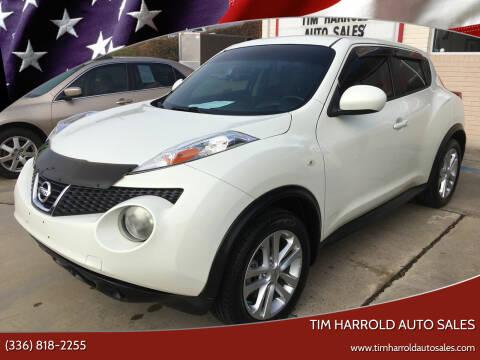2011 Nissan JUKE for sale at Tim Harrold Auto Sales in Wilkesboro NC