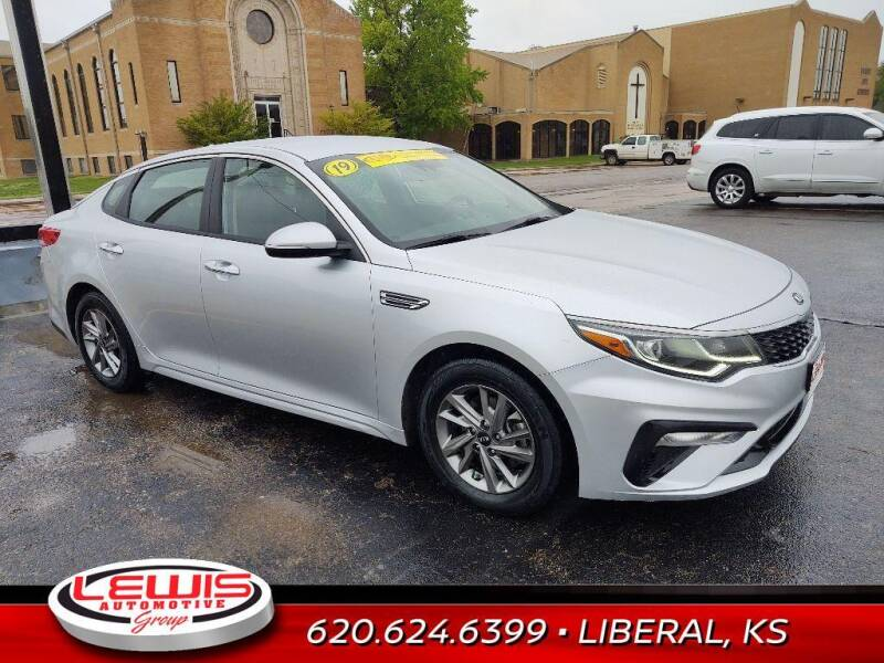 2019 Kia Optima for sale at Lewis Chevrolet Buick of Liberal in Liberal KS