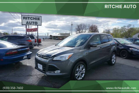 2013 Ford Escape for sale at Ritchie Auto in Appleton WI