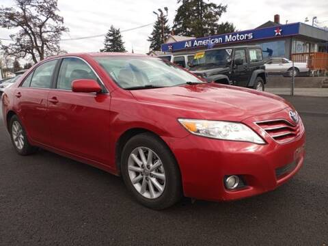 2010 Toyota Camry for sale at All American Motors in Tacoma WA