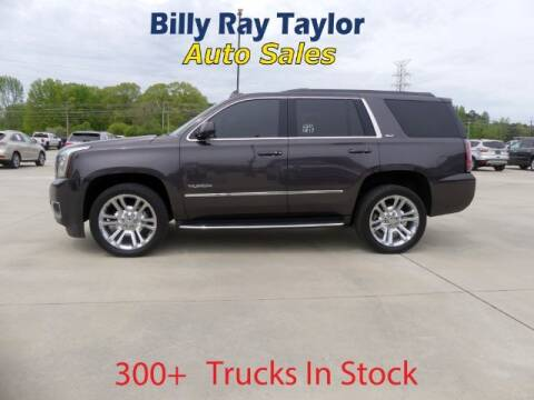 2017 GMC Yukon for sale at Billy Ray Taylor Auto Sales in Cullman AL