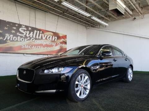 2019 Jaguar XF for sale at SULLIVAN MOTOR COMPANY INC. in Mesa AZ