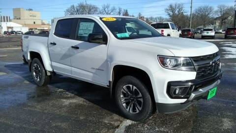 2021 Chevrolet Colorado for sale at Unzen Motors in Milbank SD