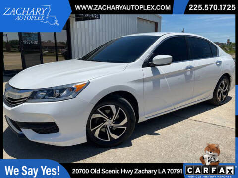 2016 Honda Accord for sale at Auto Group South in Natchez MS