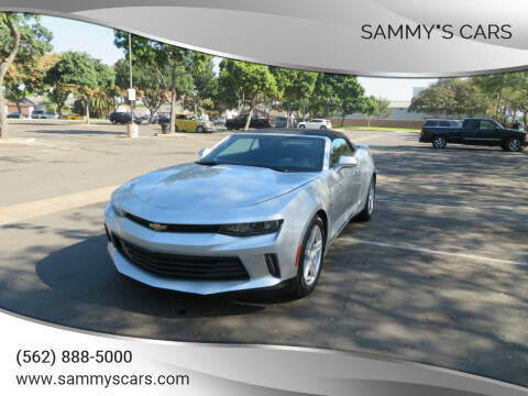 "2018 Chevrolet Camaro for sale at SAMMY""S CARS in Bellflower CA"