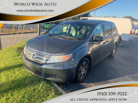 2012 Honda Odyssey for sale at World Wide Auto in Fayetteville NC