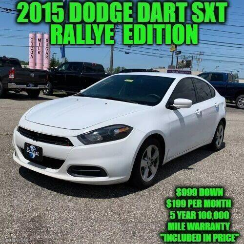 2015 Dodge Dart for sale at D&D Auto Sales, LLC in Rowley MA