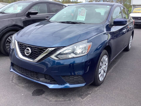 2019 Nissan Sentra for sale at Motuzas Automotive Inc. in Upton MA