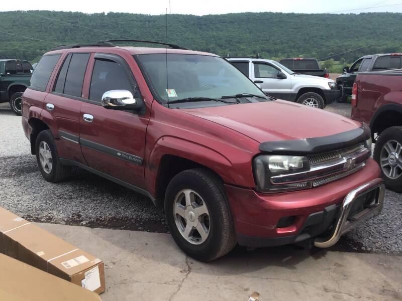 2002 Chevrolet TrailBlazer for sale at Troys Auto Sales in Dornsife PA