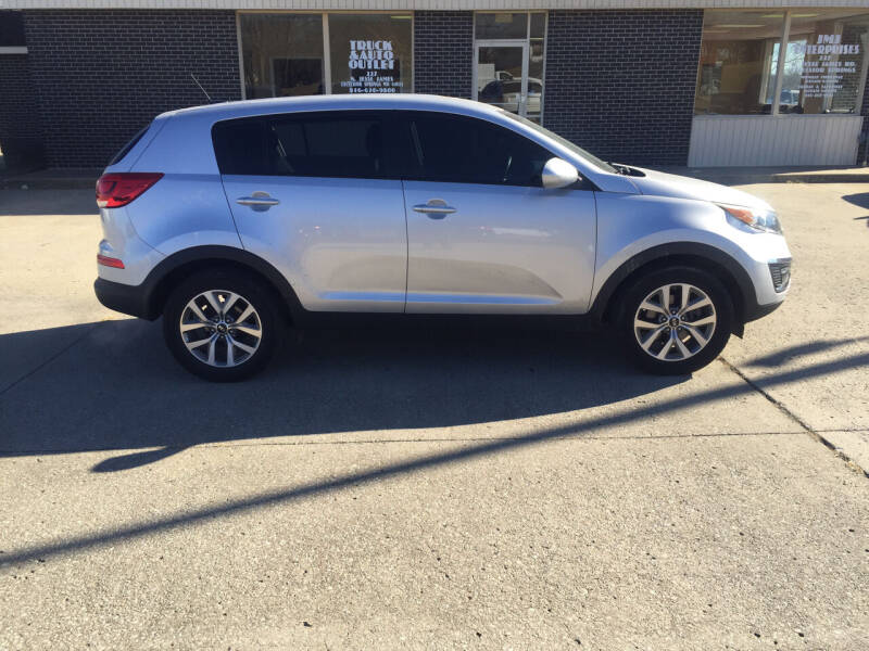 2016 Kia Sportage for sale at Truck and Auto Outlet in Excelsior Springs MO