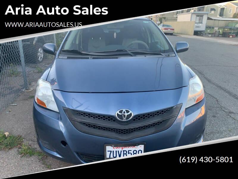 2007 Toyota Yaris for sale at Aria Auto Sales in El Cajon CA