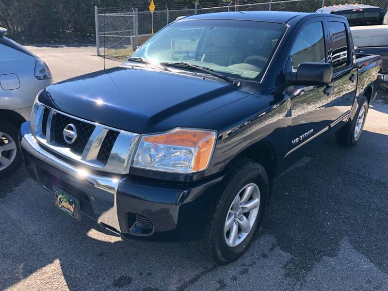 2008 Nissan Titan for sale at Central Automotive in Kerrville TX