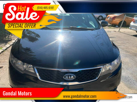 2013 Kia Forte for sale at Gondal Motors in West Hempstead NY
