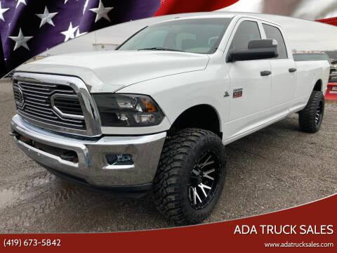2012 RAM Ram Pickup 3500 for sale at Ada Truck Sales in Ada OH
