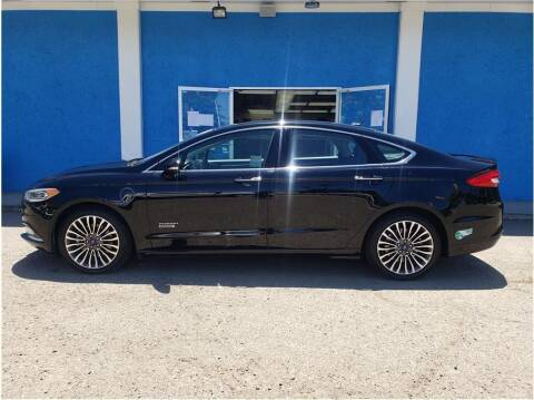 2017 Ford Fusion Energi for sale at Khodas Cars in Gilroy CA