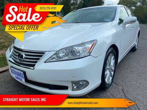2010 Lexus ES 350 for sale at STRAIGHT MOTOR SALES INC in Paterson NJ