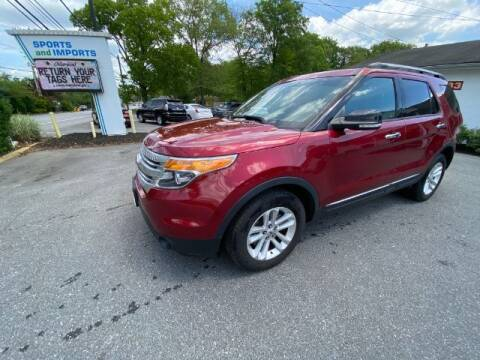 2014 Ford Explorer for sale at Sports & Imports in Pasadena MD