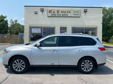 2014 Nissan Pathfinder for sale at C & S SALES in Belton MO