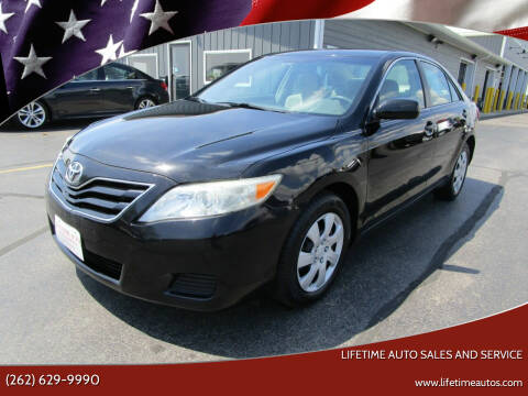 2011 Toyota Camry for sale at Lifetime Auto Sales and Service in West Bend WI