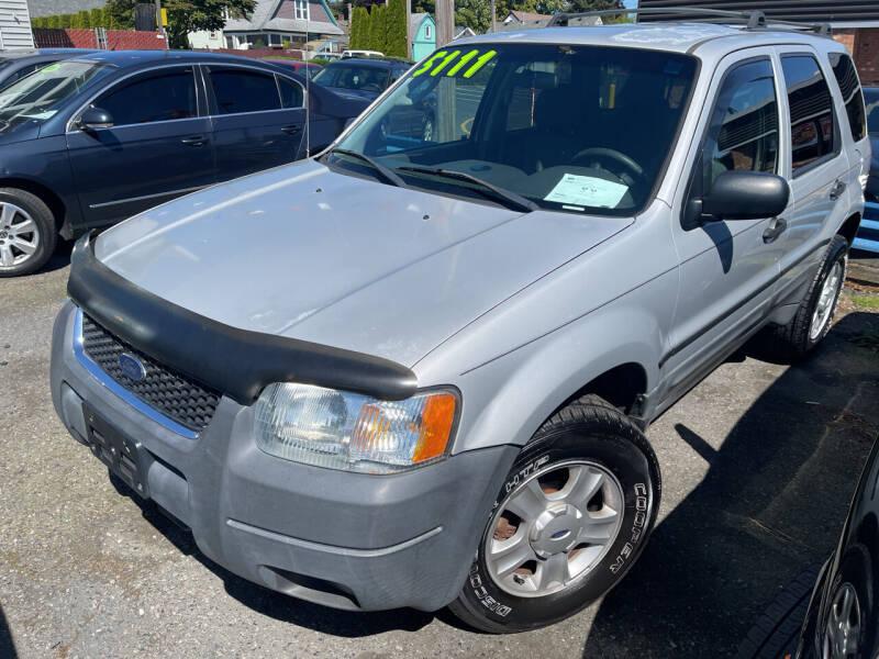 2004 Ford Escape for sale at American Dream Motors in Everett WA