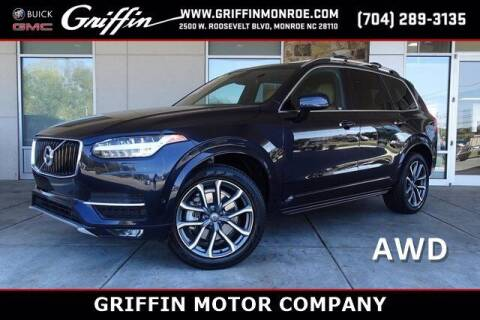 2017 Volvo XC90 for sale at Griffin Buick GMC in Monroe NC