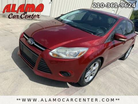 2014 Ford Focus for sale at Alamo Car Center in San Antonio TX