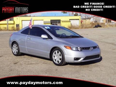 2007 Honda Civic for sale at Payday Motors in Wichita And Topeka KS