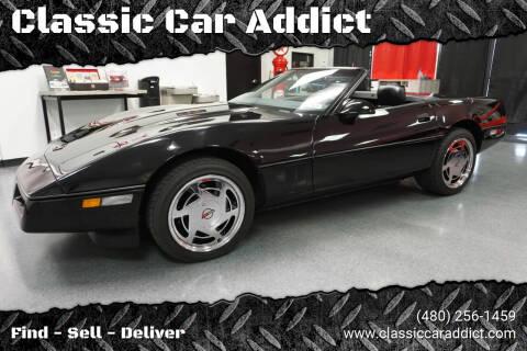1989 Chevrolet Corvette for sale at Classic Car Addict in Mesa AZ
