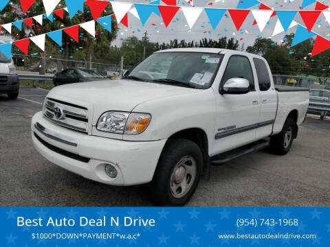 2006 Toyota Tundra for sale at Best Auto Deal N Drive in Hollywood FL
