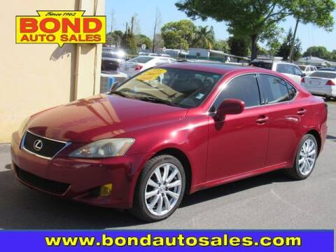 2007 Lexus IS 250 for sale at Bond Auto Sales in St Petersburg FL