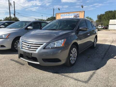 2015 Nissan Sentra for sale at Palmer Auto Sales in Rosenberg TX
