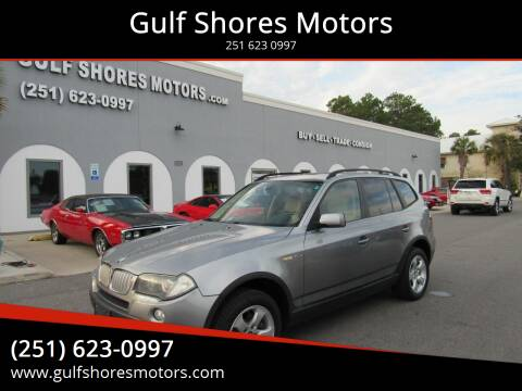 2008 BMW X3 for sale at Gulf Shores Motors in Gulf Shores AL