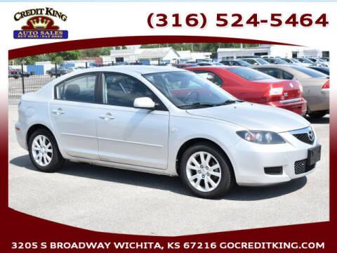 2007 Mazda MAZDA3 for sale at Credit King Auto Sales in Wichita KS