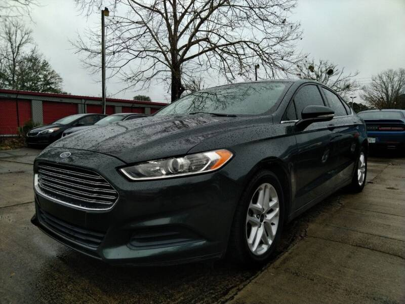 2015 Ford Fusion for sale at SUNRISE AUTO SALES in Gainesville FL