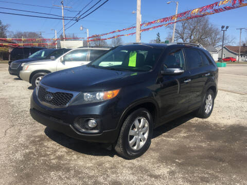 2013 Kia Sorento for sale at Antique Motors in Plymouth IN