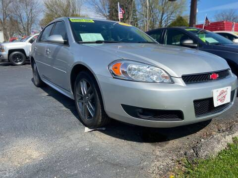 2013 Chevrolet Impala for sale at Stach Auto in Janesville WI