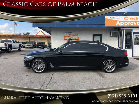 2016 BMW 7 Series for sale at Classic Cars of Palm Beach in Jupiter FL