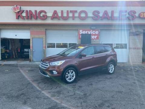 2018 Ford Escape for sale at KING AUTO SALES  II in Detroit MI