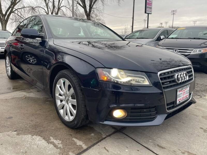 2010 Audi A4 for sale at Direct Auto Sales in Milwaukee WI