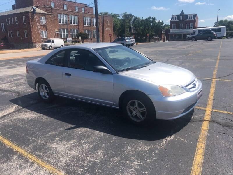 2001 Honda Civic for sale at DC Auto Sales Inc in Saint Louis MO