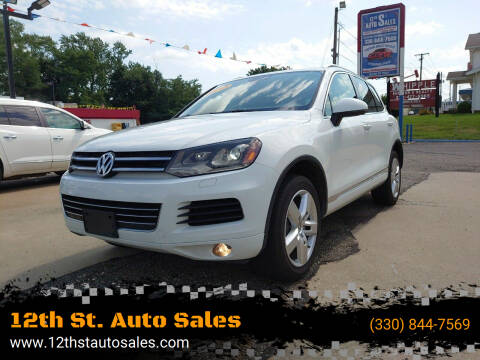2013 Volkswagen Touareg for sale at 12th St. Auto Sales in Canton OH