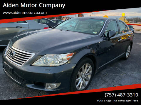 2010 Lexus LS 460 for sale at Aiden Motor Company in Portsmouth VA