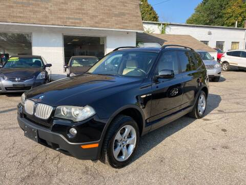2008 BMW X3 for sale at ENFIELD STREET AUTO SALES in Enfield CT