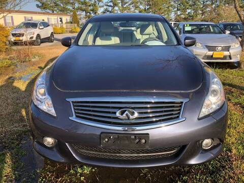 2011 Infiniti G37 Sedan for sale at Kinston Auto Mart in Kinston NC