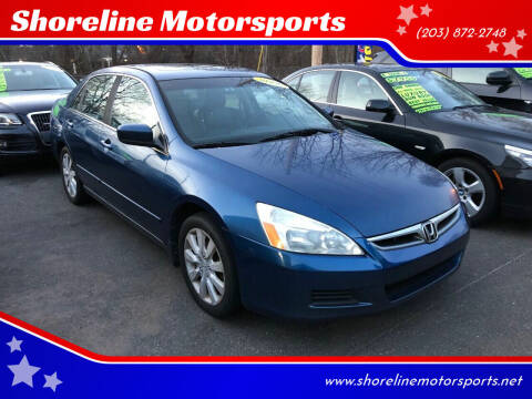 2006 Honda Accord for sale at Shoreline Motorsports in Waterbury CT