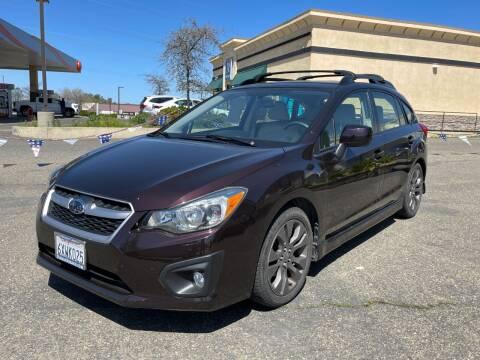 2013 Subaru Impreza for sale at Deruelle's Auto Sales in Shingle Springs CA