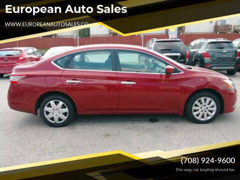 2014 Nissan Sentra for sale at European Auto Sales in Bridgeview IL