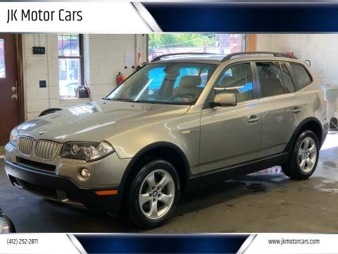 2007 BMW X3 for sale at JK Motor Cars in Pittsburgh PA