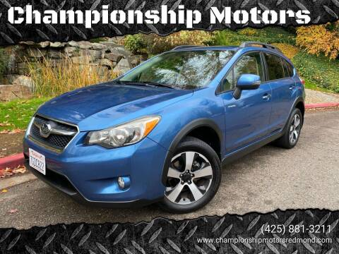 2014 Subaru XV Crosstrek for sale at Mudarri Motorsports - Championship Motors in Redmond WA