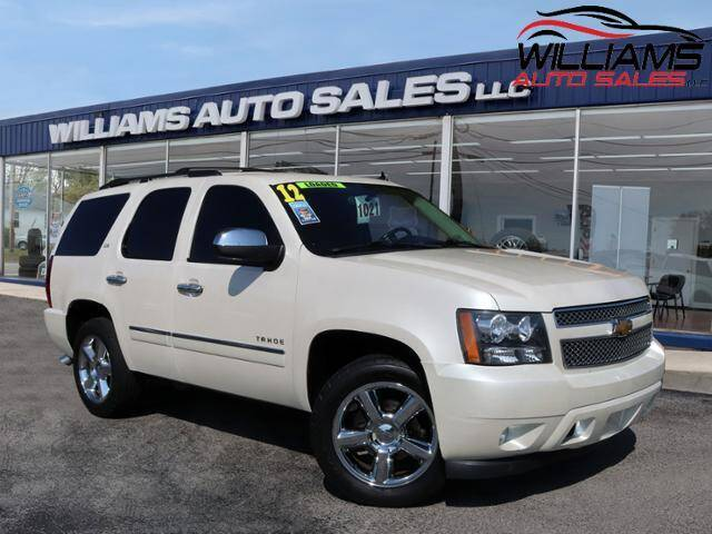 2012 Chevrolet Tahoe for sale at Williams Auto Sales, LLC in Cookeville TN